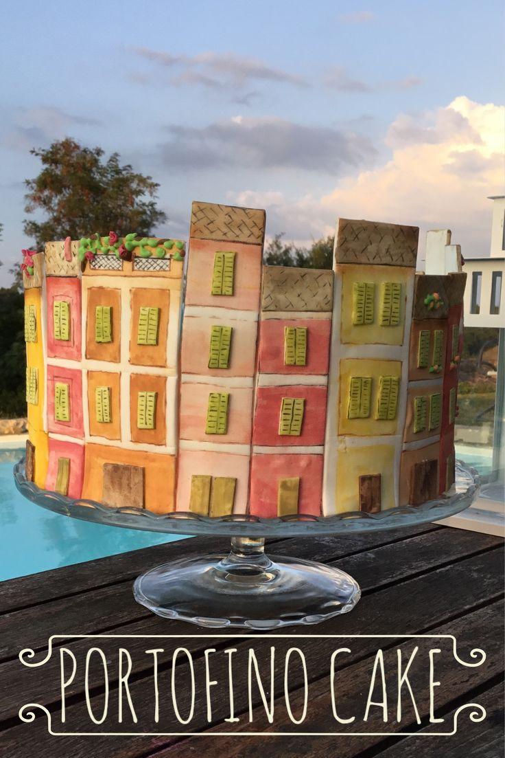 Una Torta decorata dedicata agli amanti della Liguria. Istruzioni dettagliate nel Blog