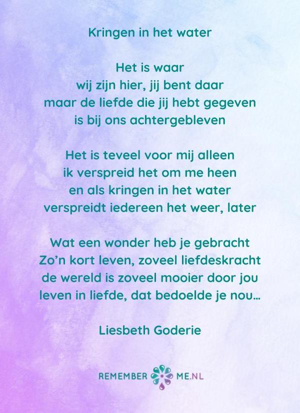 Lees gedichten over rouw en verlies | Mooie teksten