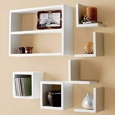 M s de 25 ideas incre bles sobre estantes flotantes en - Ideas para hacer un tocador ...