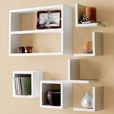 1000 ideas sobre estantes flotantes en pinterest for Estantes para cuartos