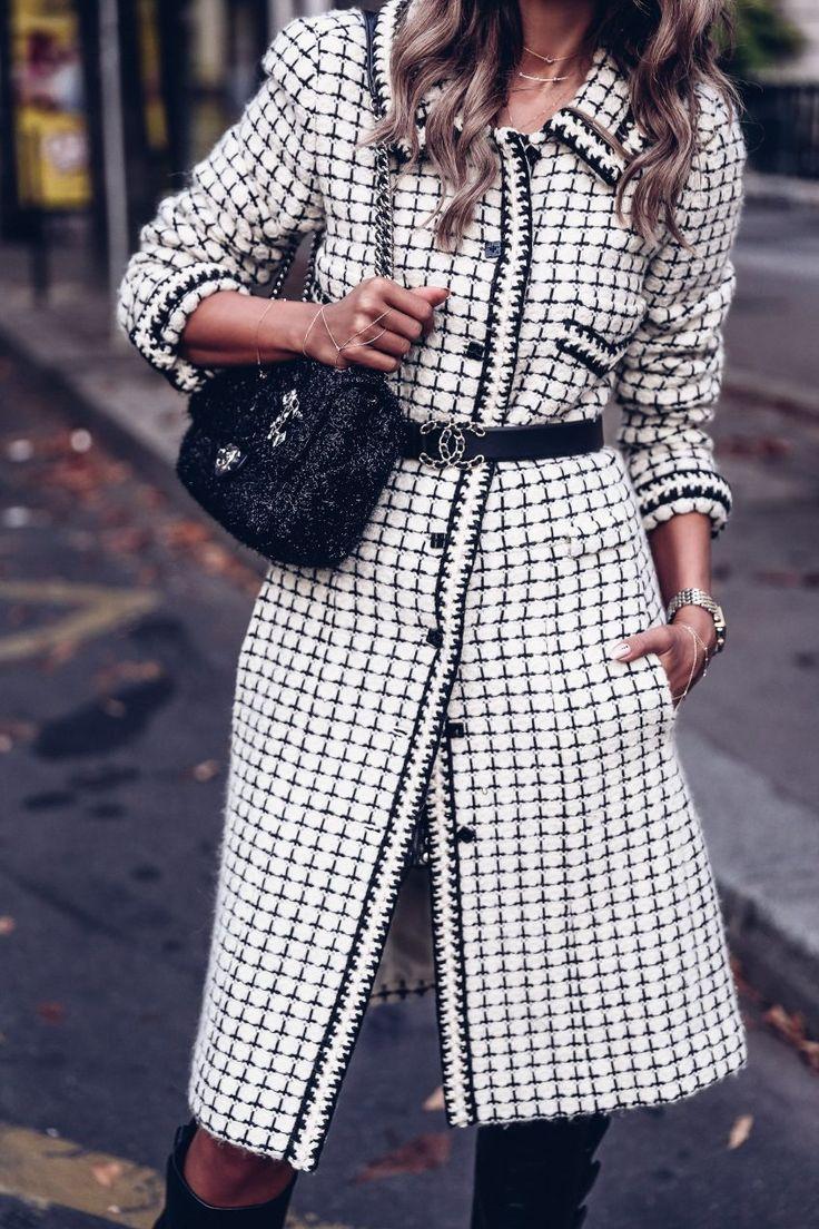 The VivaLuxury   PFW Day 2 :: Black & White Chanel