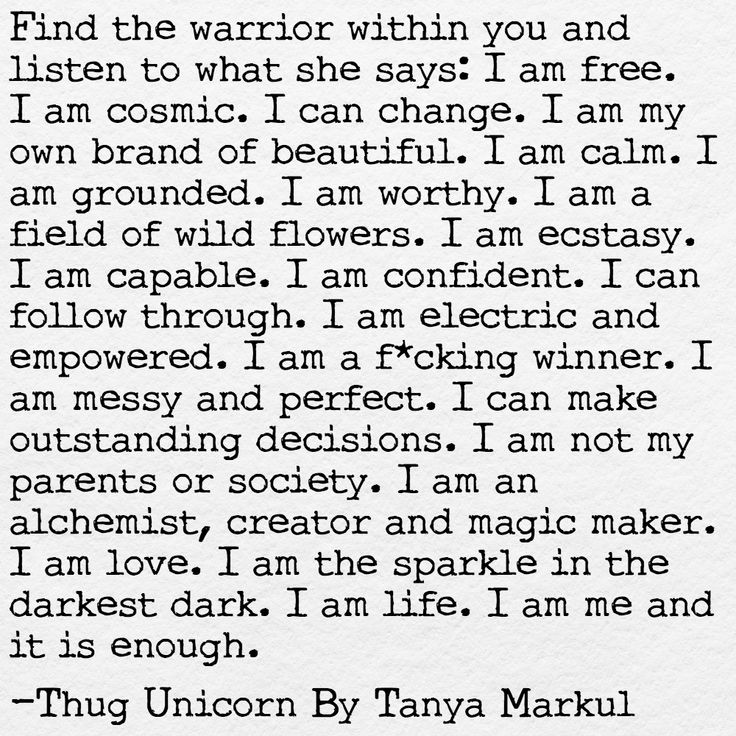 """833 Likes, 23 Comments - Thug Unicorn (@thugunicorn) on Instagram: """"Find the warrior within you . . . Ps: My first book is coming on the New Moon in November! Visit…"""""""