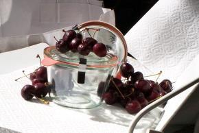 sure jell bing cherry jam