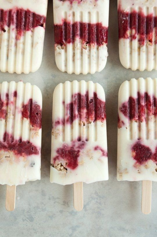 Yogurt Breakfast Popsicles | 29 Genius Ways To Eat Greek Yogurt