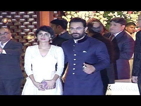 Aamir Khan & Kiran Rao At Mukesh Ambani's Niece's Pre Wedding Party.