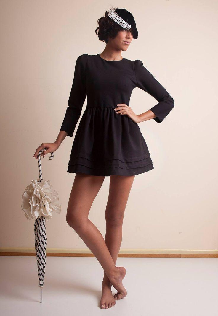 LITTLE. BLACK. DRESS.  ** Giacomo Facco Dress **