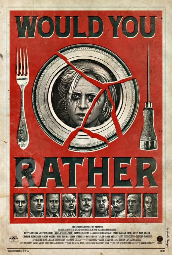 Full Trailer & Clip from Would You Rather