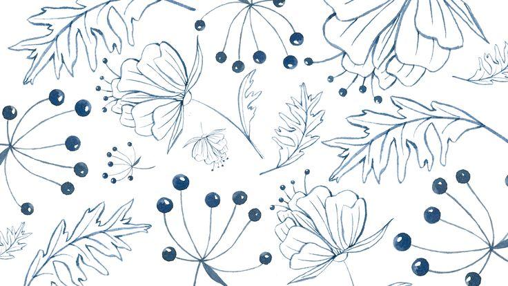 Downloads: Blue Wallpaper - Simple + Beyond