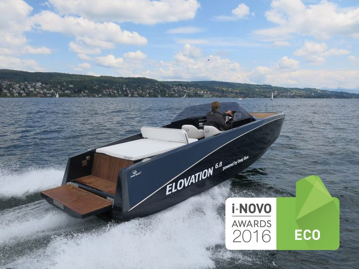 Electric runabout / inboard ELOVATION 6.8 Ganz Boats