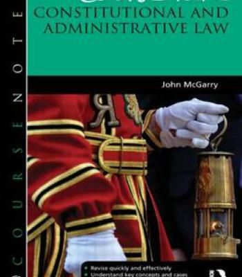 Constitutional And Administrative Law Pdf