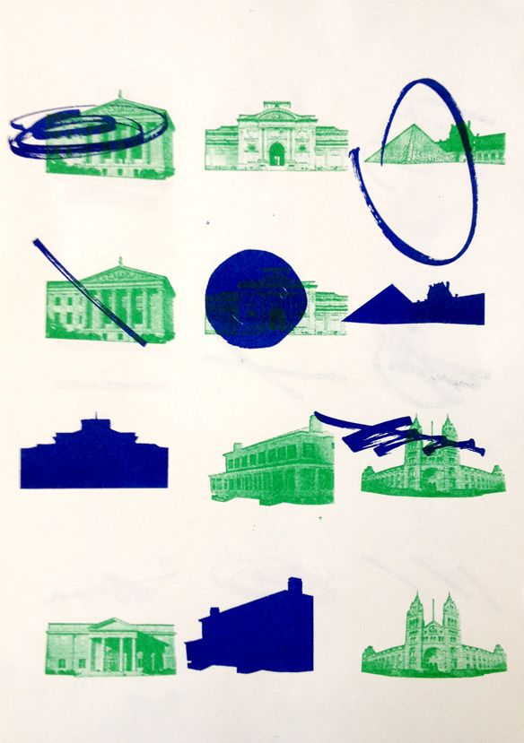 Mus(a)eu(m) workshop by Marco Balesteros #graphic #design