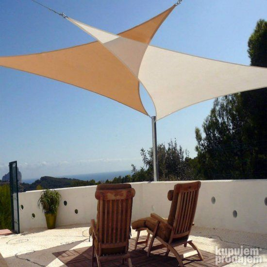 New Sun Shade Sun Sail Cover Canopy Triangle Square For Outdoor Patio  Backyard