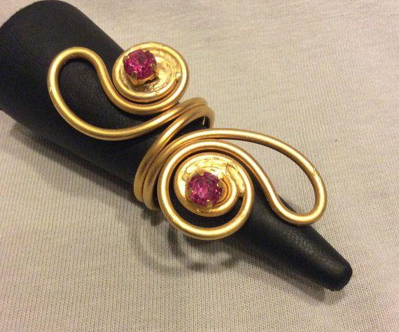 χρυσό δαχτυλίδι κοσμήματα-σύρμα τυλιγμένο κοσμήματα από BeyhanAkman