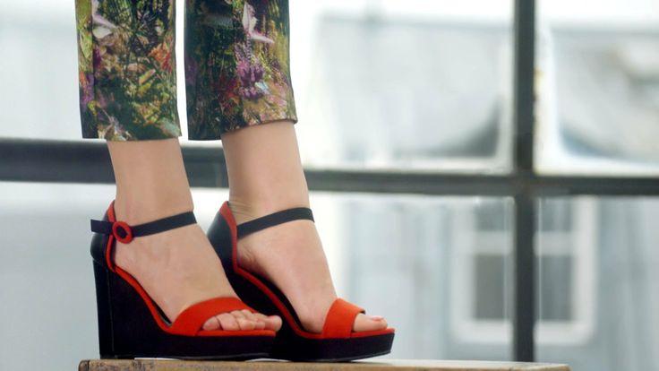 Sandales compensées GÉMO