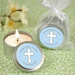 AD : Religious First Communion, Baptism, Christening, Confirmation Favor Ideas (click on the image to find these candles and other favor ideas) #AD