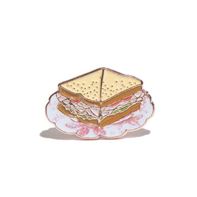 Sandwich Enamel Pin
