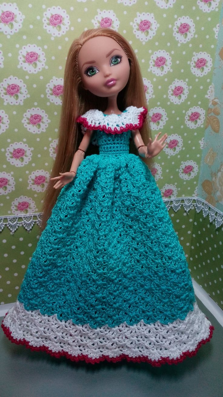 Handmade crochet clothes for Ever After High