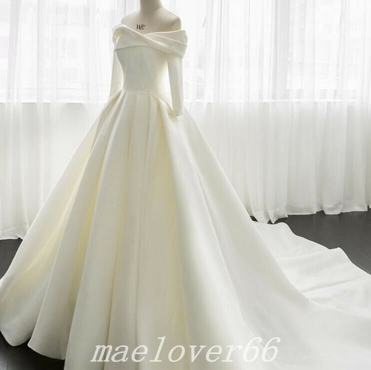 Particulars about White Ivory Marriage ceremony Clothes Bridal Robe Ball Robe Lace 3/four Sleeve Knee Size