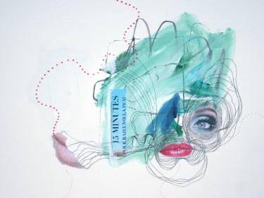 "Saatchi Art Artist Sander and Marijah; Collage, ""01.07.10.16-I.XXI.X.XVI"" #art"