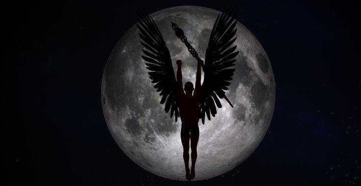 Dark Angel Night Moon wallpaper from Angels wallpapers