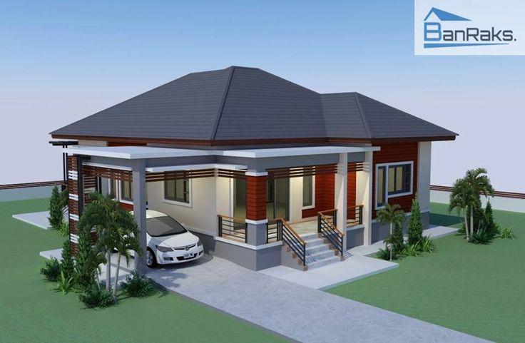SINGLE STOREY HOUSE MODERN TROPICAL 3 BEDROOMS, 2 BATHROOMS | Amazing Architecture Magazine