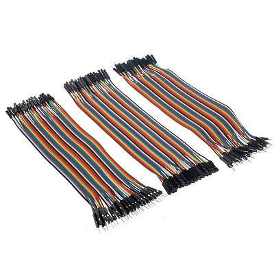 3x40pcs 20cm 2.54mm Male to Female, Male to Female, Male to Fe Wire Jumper Cable