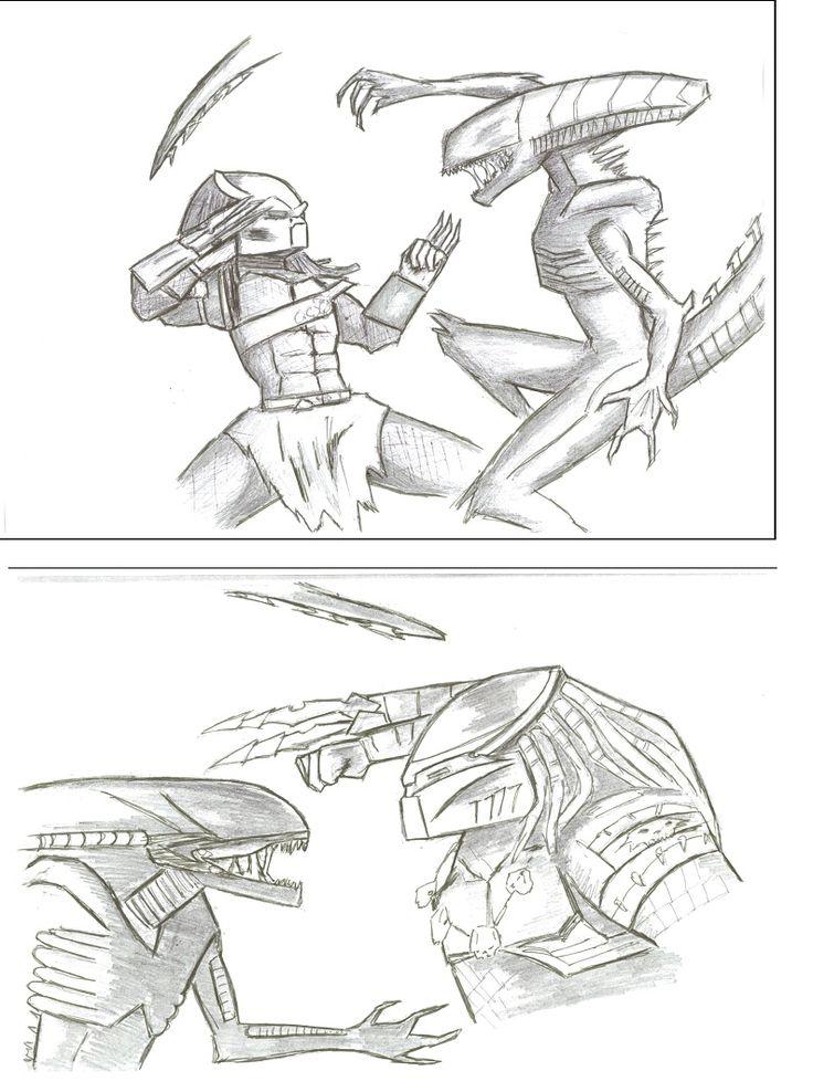 *WINNER*  Jordan L. - Alien vs Predator