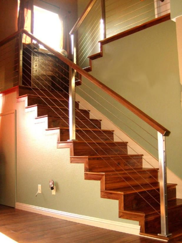 Modern Indoor Stair Railing Kits Systems For Your Inspiration 26