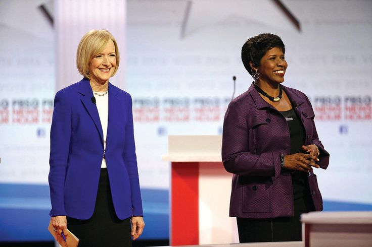 American Patriots. One of the great news teams in America: the late Gwen Ifill and Judy Woodruff, seen in 2016. They were the first female co-anchors on TV. #Respect. Morry Gash/AP Photo. Uploaded from Berkshire Eagle. www.nenimedia.creativecirclemedia.com uploads original 20170419-110341-AP17108615181486-T5_54213.jpg