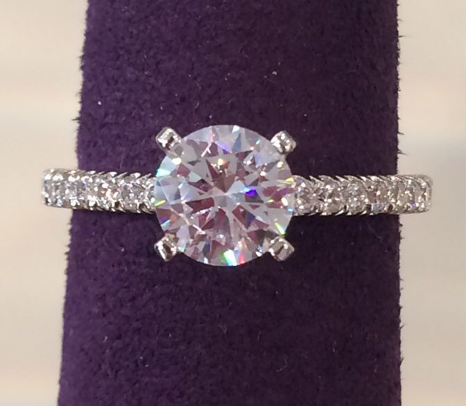 Classic and simple Engagement Rings Pinterest