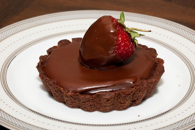 Chocolate Truffle Tarts | Food and drink | Pinterest