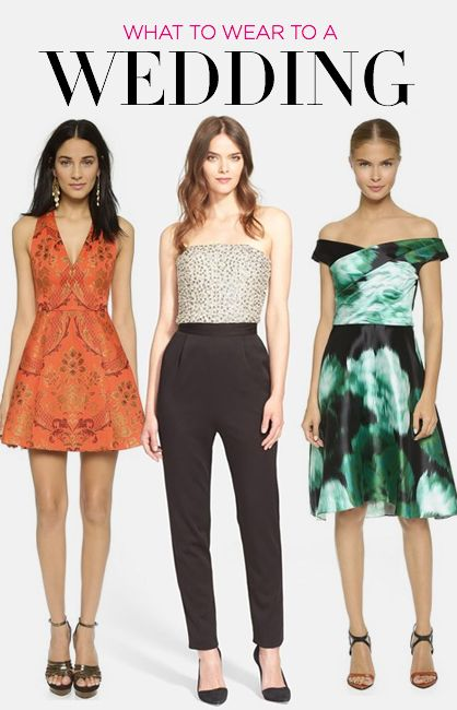 10 Outfits to Wear to a Wedding
