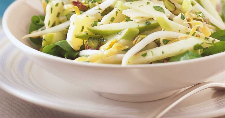 Salade de pommes vertes et de cheddar