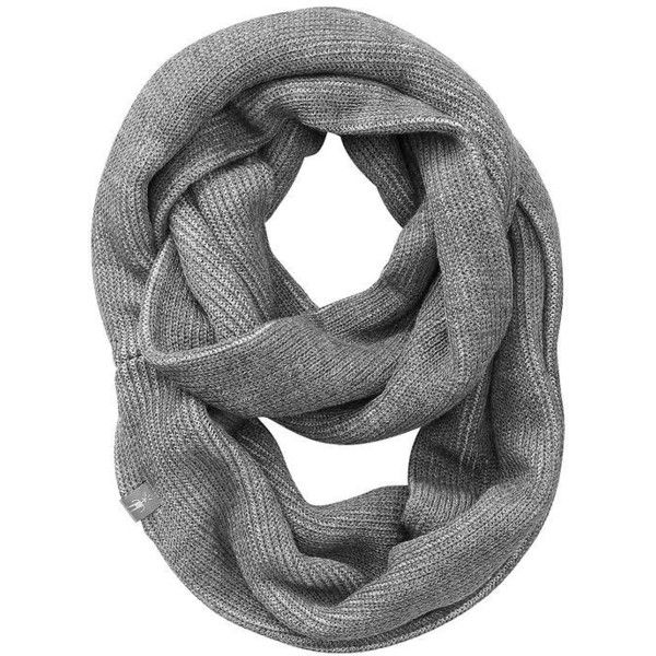 Smartwool Women Ribbed Infinity Scarf (51 CAD) ❤ liked on Polyvore featuring accessories, scarves, accessories - scarves, medium grey heather, circle scarves, grey infinity scarf, gray infinity scarf, loop scarves and grey shawl
