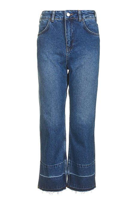 Un jean à ourlets
