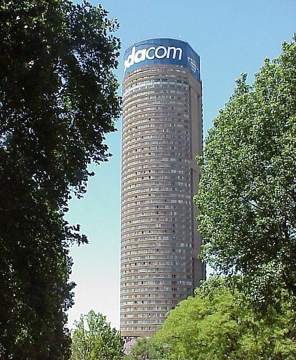 the highest building tower in Johannesburg