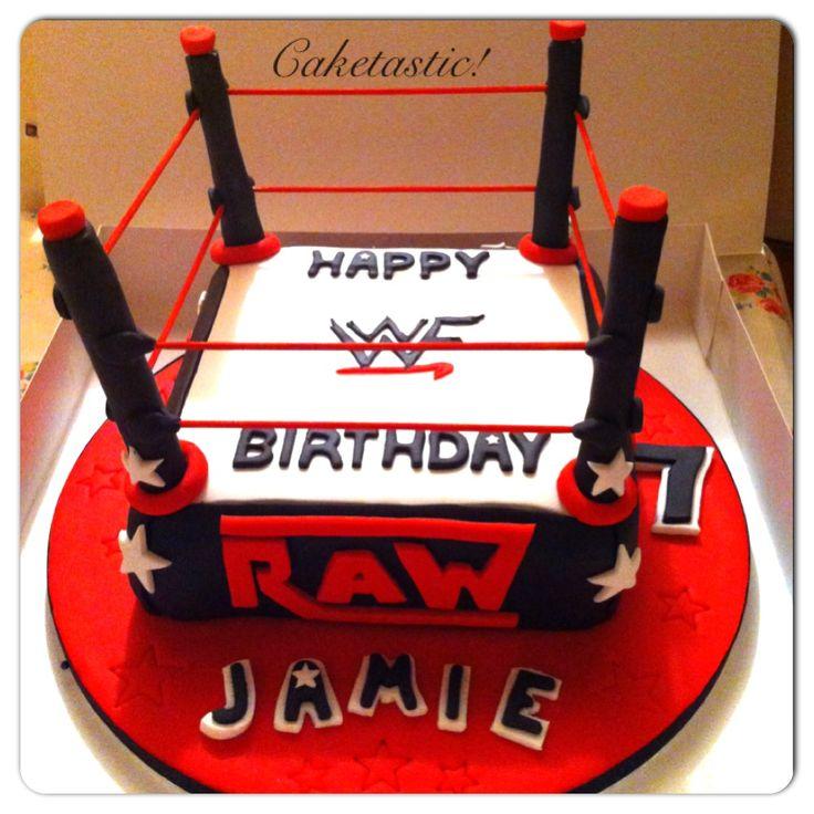 9 Best Wwe Cakes Images On Pinterest Wwe Cake Wrestling