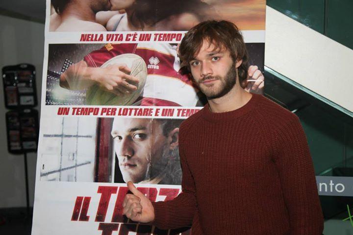 Lorenzo Richelmy alla prima del film