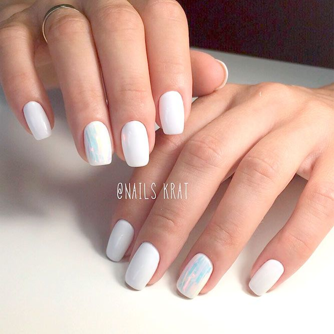 White Nail Ideas: Best 25+ White Nail Polish Ideas On Pinterest