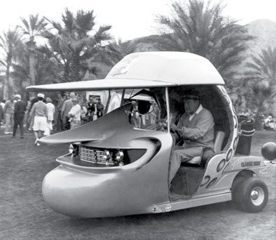 Bob Hope's golf cart.