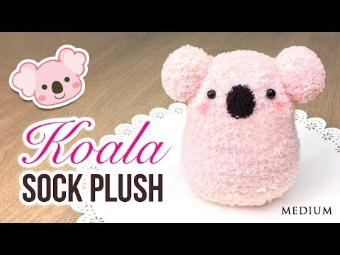DIY Koala Plush!! Make a Cute DIY Toy using Socks!, My Crafts and DIY Projects