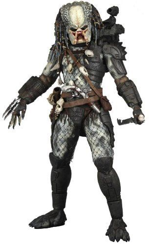 """NECA Predators 2010 Movie Series 3 Action Figure Elder Predator by NECA Toys. $49.95. NECA Predators 7"""" Series 3 Elder Predator Action Figure. One of sciencefictons greatest alien races  the Predators  returned this summer to theaters in the Robert Rodriguez production Predators, and now more characters from the film are yours to collect with the second series of Predators Action Figures! Choose from the allnew Tracker Predator, the Cracked Mask Battle Damaged Classic Predator, ..."""