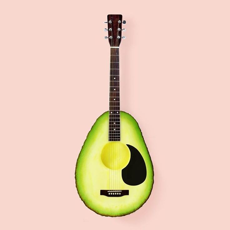 Avocado Guitar ^ Paul Fuentes: http://www.paulfuentesdesign.com/work/#/new-gallery-83/