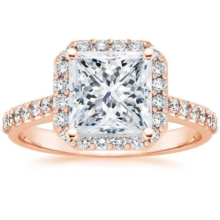 14K+Rose+Gold+Fancy+Halo+Diamond+Ring+with+Side+Stones+(2/5+ct.+tw.)+from+Brilliant+Earth