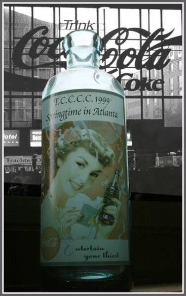 1999年 春のコカ・コーラ 博覧会 記念ボトル ビンテージ 瓶_画像1