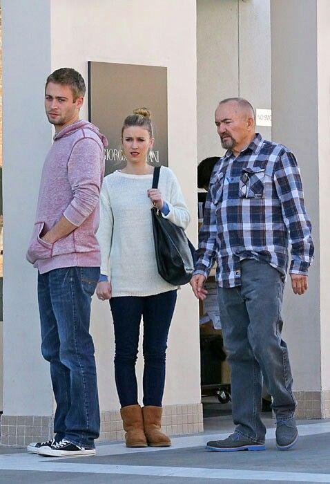 Cody, Felicia and Paul Walker III