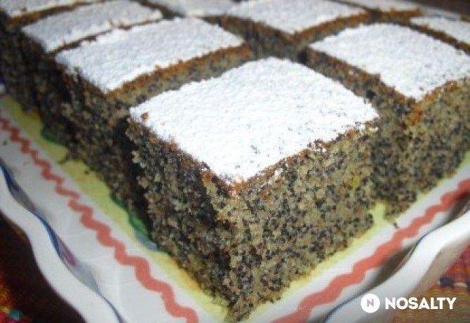 Lusta asszony sütije mákkal vagy dióval