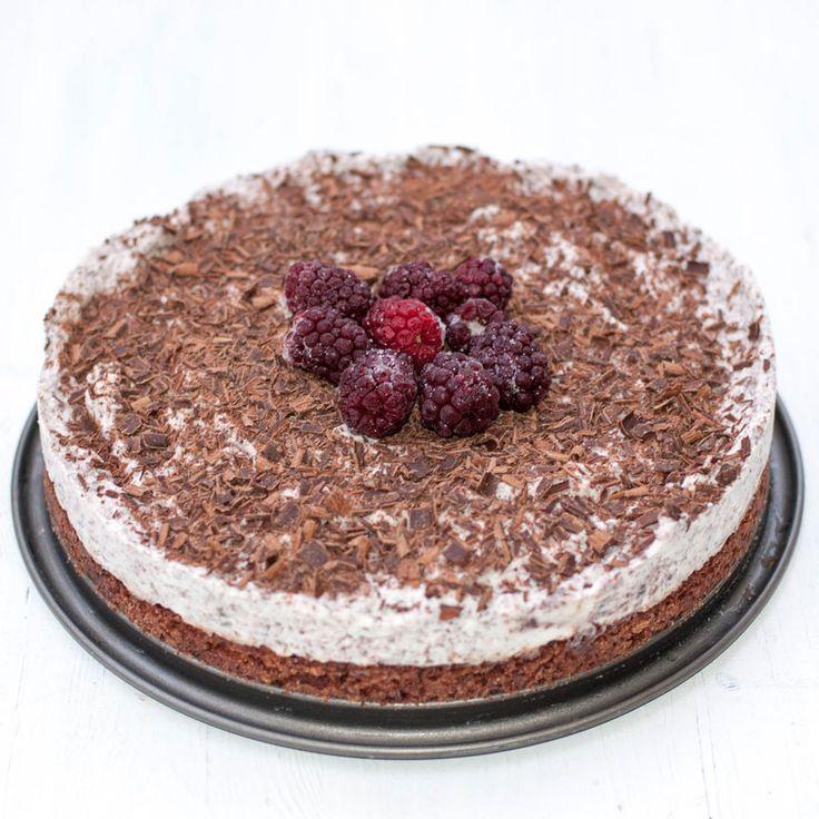 En lättgjord cheesecake som smakar ljuvligt gott!