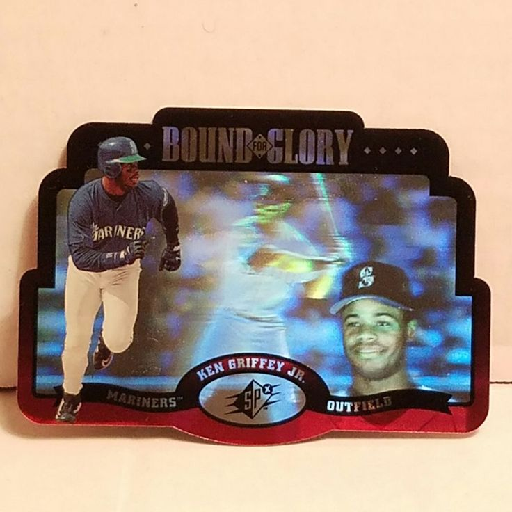 Ken Griffey Jr. Baseball Card 1996 SPx Bound For Glory Insert Card HOF #SeattleMariners #forsale #kengriffeyjr #baseballcard #SPx #ebay #seattlemariners #seattle #MLB #HOF #sportscard #cardcollector #rare #mariners #kengriffey #vintagecard http://ow.ly/7z3i309mihx