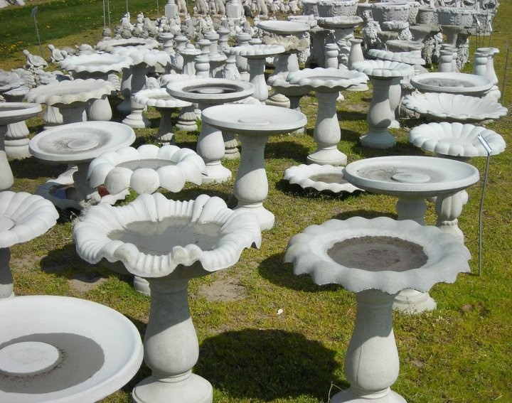 Concrete Garden Statues At Warmbiers